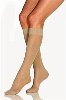 Jobst UltraSheer Knee High Closed Toe 15-20mmHg