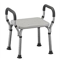 Nova Shower Chair with Handles, No Back
