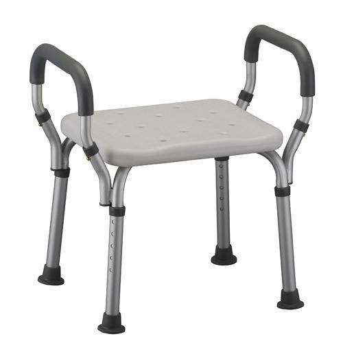 Shower Chair with Handles, No Back
