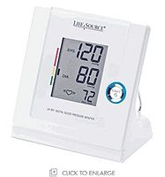 LifeSource Multifunction Automatic Blood Pressure Monitor