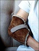Parsons Sheepskin Heel and Elbow Protectors