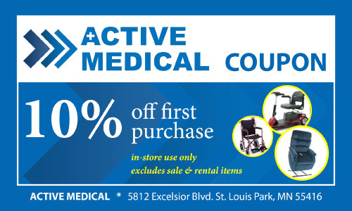 medical equipment coupon